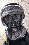 Mountain Buggy Nano - with infant seat installed