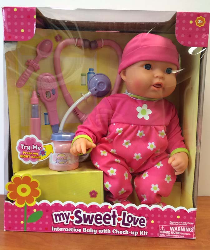 My Sweet Love Cuddle Care Doll In Packaging Growing Your