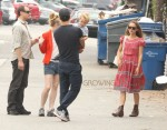 Natalie Portman & Family Out For Lunch In Venice
