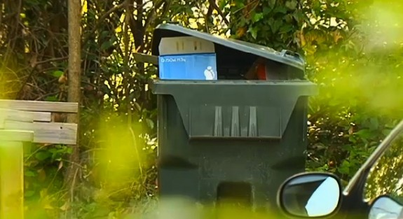 Neighbours find newborn in garbage