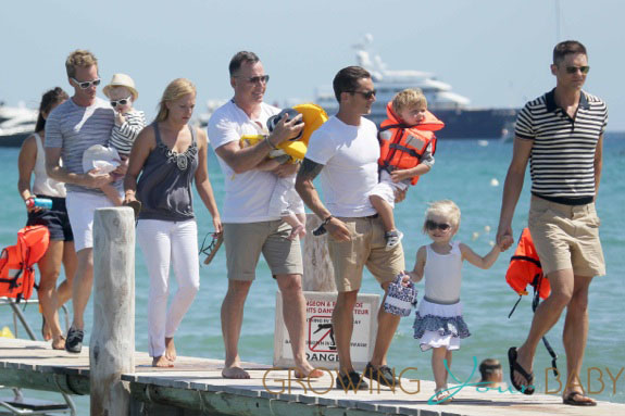 David Furnish Spends Some Time With Neil Patrick Harris and David Burtka And Kids In Tow