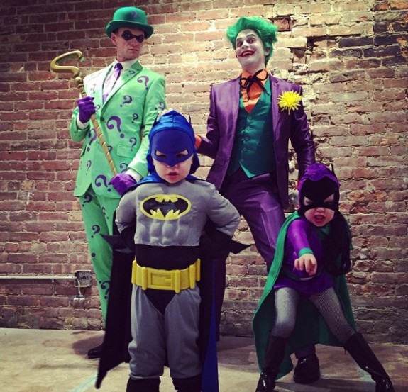 Neil Patrick Harris Gotham City Halloween