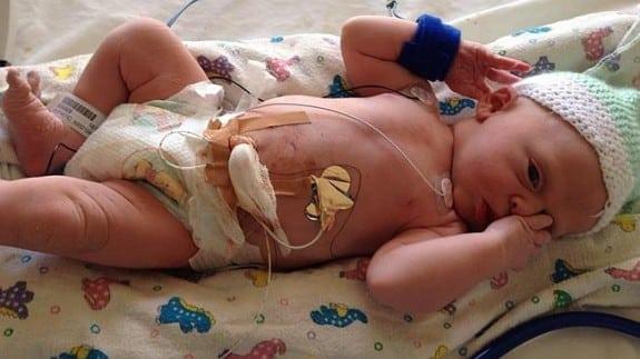 Newborn Kyden Thomas Bede Kelly