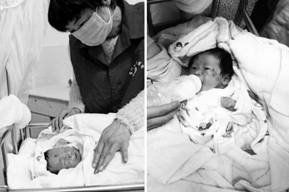 Newborn Xiao Zhao