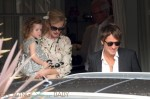 Nicole Kidman and Keith Urban with daughter Faith at her parent's 50th anniversary