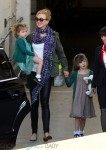 Nicole Kidman arrives in Sydney with daughter Faith and Sunday