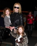 Nicole Kidman at LAX with her girls Sunday And Faith