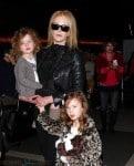 Nicole Kidman at LAX with her girls Sunday And Faith