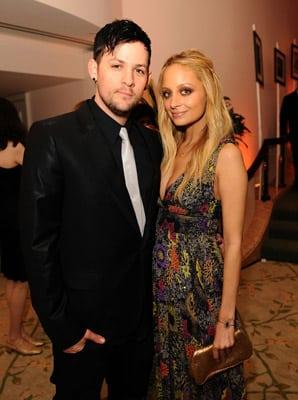 Nicole Richie and Joel Madden 2008