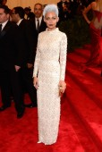 Nicole Richie at the 2013 Met Gala at the Metropolitan Museum of Art