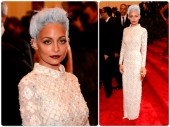 Nicole Richie red carpet at the 2013 Met Gala at the Metropolitan Museum of Art