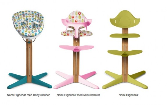Nomi highchair growing your baby