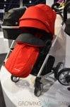 Nuna mixx Stroller - red