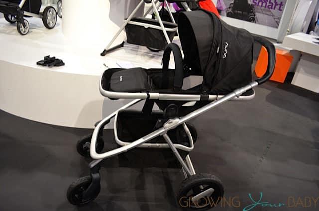 Nuna Ivvi Luxx Stroller - seat reclined