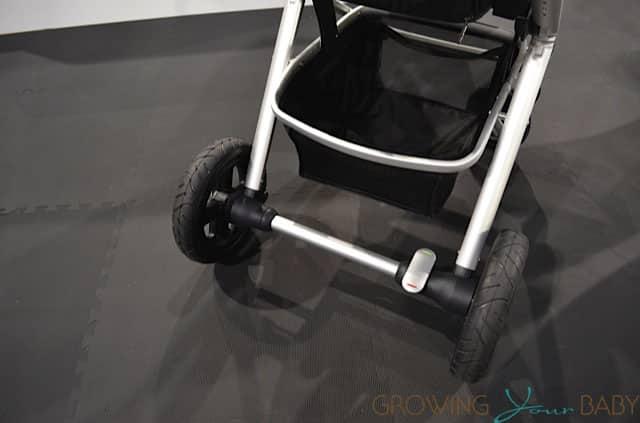 Nuna Ivvi Luxx Stroller - shopping basket