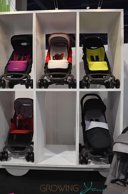 Nuna Pepp stroller collection
