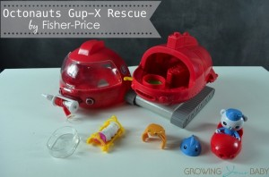 Octonauts Gup-X Rescue by Fisher-Price