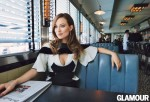 Olivia WIlde poses for Glamour Magazine 2014