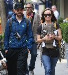 Olivia Wilde And Jason Sudeikis Take Baby Otis For A Walk