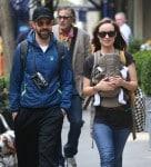 Olivia Wilde And Jason Sudeikis Take Baby Otis For A Walk