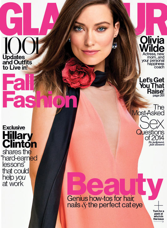 Olivia Wilde September Glamour cover