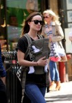 Olivia Wilde Takes Baby Otis For A Walk