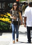Olivia Wilde Takes Baby Otis For A Walk in NYC