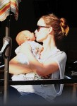 Olivia Wilde out in NYC with son Otis