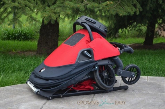 Orbit Baby G3 Stroller - folded