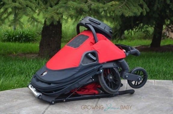 Orbit Baby G3 Stroller - folded