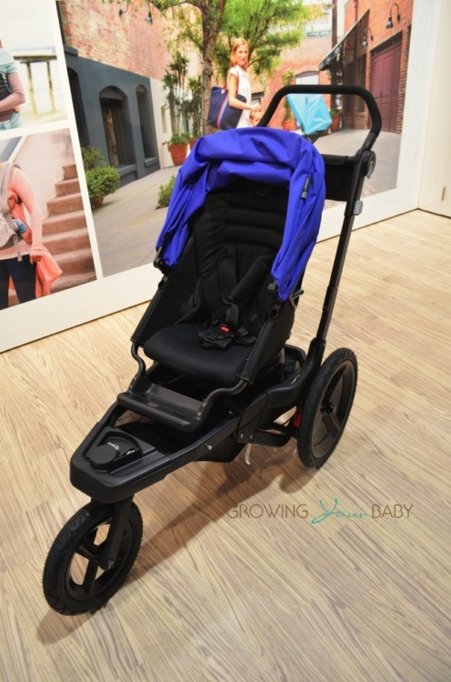 Orbit Baby O2 Jogging Stroller - city mode forward facing