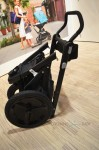 Orbit Baby O2 Jogging Stroller  - folded