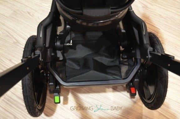 Orbit Baby O2 Jogging Stroller - shopping basket