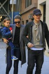 Orlando Bloom and Miranda Kerr out in NYC with son Flynn