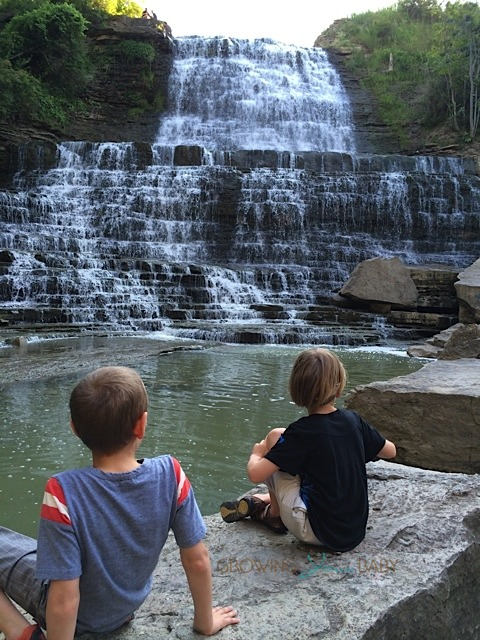 Our Summer Journey - ALbion Falls Hamilton