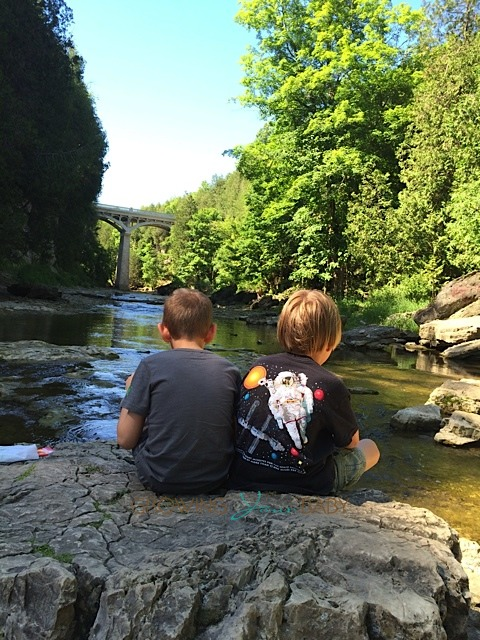 Our Summer Journey - visiting the elora gorge