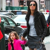 Padma Lakshmi Shops With Her Little Lady in SoHo