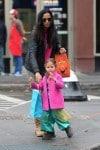 Padma Lakshmi out for Halloween with daughter Krishna