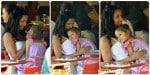 Padma Lakshmi with her daughter Krishna Dell
