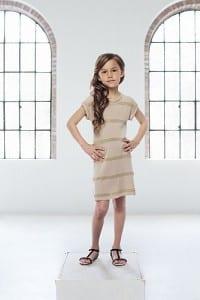Pale Cloud Ciara Dress