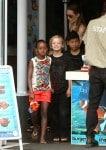 Pax, Shiloh and Zahara at the Sydney Zoo