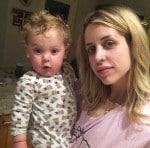 Peaches Geldof with son Phaedra Geldof-Cohen