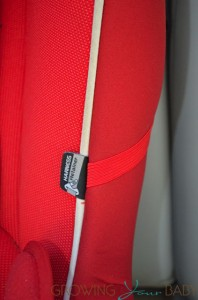 Peg Perego Primo Viaggio SIP Convertible Car Seat - belt holder