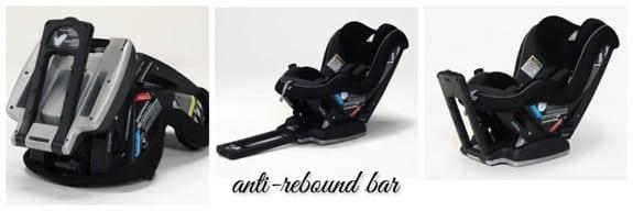 Peg Perego Primo Viaggio SIP Convertible Seat anti-rebound bar