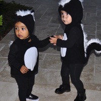 Penelope & North West Are Little Stinkers!