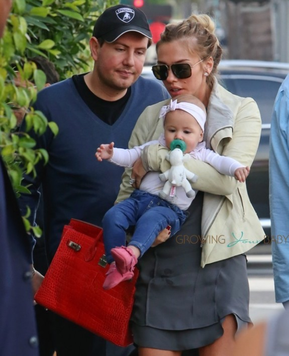 Petra Ecclestone out in LA with her daughter Lavinia Stunt