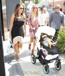 Petra & Tamara Ecclestone Spotted Out And About In Beverly Hills