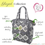 Petunia Handbags Glazed Collection