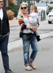 Pink and baby Willow leaves Coogies in Malibu