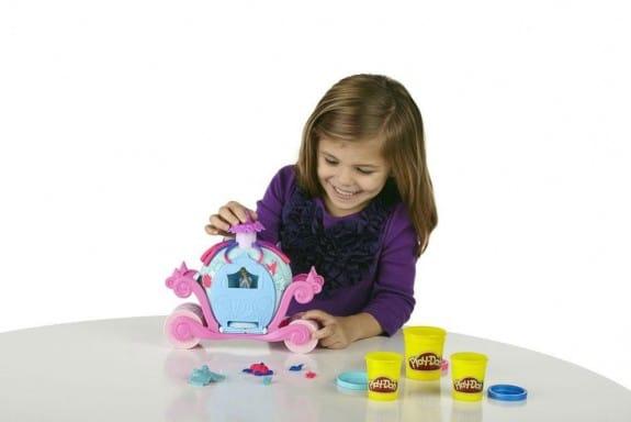 Play Doh Disney Princess Magical Carriage Set t